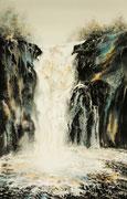 Les chutes de Kirlaig (Ecosse) - 34x54 cm
