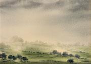 Brumes galloises - 35x25 cm