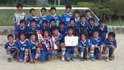 【2011年8月】 射水市招待サッカー(U-12) 優勝
