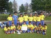 【2011年8月】 堀南カップ(U-12) 準優勝