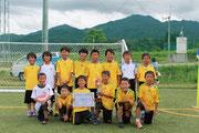 【2013年7月】第38回飛騨古川JC-CUP(U-10) 優勝
