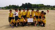 【2013年6月】第13回大島カップサッカー大会(U-10) 3位