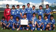 【2012年7月】 第37回飛騨古川JC-CUP(U-12) 準優勝