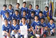 【2012年7月】 第22回スポーツ少年団サッカー大会(U-12) 優勝