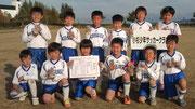 【2012年11月】 第11回ウインズ小杉カップ(U-8) 準優勝