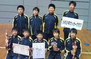 【2012年1月】 ※おまけ(結果:氷見FCトーナメント敢闘賞) 氷見フットサル2012(U-12) 敢闘賞