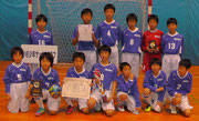 【2013年1月】 氷見フットサル2013(U-12) 優勝
