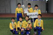 【2014年2月】第3回源杯フットサル大会(U-10) 優勝