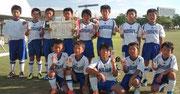 【2012年8月】 第15回アンバックス呉羽記念大会(U-10) 準優勝