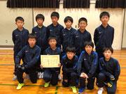 【2018年12月】中田JFCフットサル交流会(U-12) 準優勝