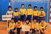 【2014年1月】氷見フットサル2014(U-12) 優勝