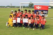 【2013年6月】第20回栄杯争奪少年サッカー大会(U-11トレセン) 準優勝