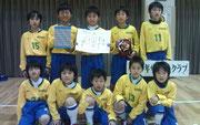 【2012年3月】 SEIBUカップ(U-11) 準優勝