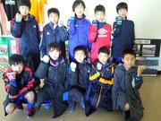 【2014年2月】第9回湯けむりカップ(トレセンU-12) 3位