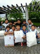 【2013年6月】第5回高岡市キッズトーナメント(U-8) 優勝