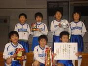 【2012年2月】 氷見フットサル大会2012(U-9) 優勝
