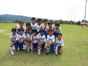 【2013年6月】第2回Kurobeカップ(U-9) 準優勝