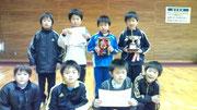 【2012年1月】 アレキサンドリアフットサルフェスティバル(U-9) 優勝(2連覇達成)