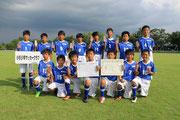 【2013年8月】第16回アンバックス呉羽カップ(U-12) 3位