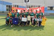 【2013年8月】第9回千曲市体育協会長杯マクドナルドカップ(トレセンU-11) 優勝