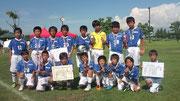 【2011年8月】 呉羽カップ(U-12) 準優勝