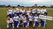 【2013年10月】第5回U-9はりはらカップサッカー大会(U-9) 優勝