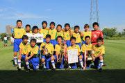【2013年7月】第34回高岡市サマーカップ(U-12) 優勝