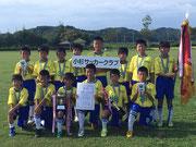 【2018年8月】第29回かたかごカップ(U-11) 優勝!!