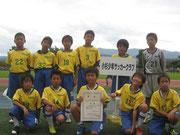 【2011年8月】 ※おまけ(結果:7位/24チーム) 上越ふれあいカップ(U-11)2位リーグ 1位