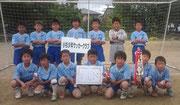 【2012年6月】 新湊REDカップ(U-10) 準優勝