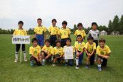 【2013年6月】第22回富山県スポーツ少年団交流大会(U-12) 3位