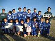 【2012年11月】 第31回丸岡町招待少年サッカー大会(トレセンU-12) 優勝