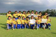【2013年8月】第16回アンバックス呉羽カップ(U-10) 3位