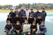 【2013年10月】北國旗争奪・白山JC杯少年サッカー大会(U-12) 準優勝