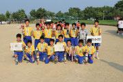 【2013年8月】第8回射水市招待サッカー大会(U-12) 優勝