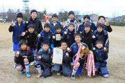 【2014年3月】第33回新湊レッドカップサッカー大会(U-12) 優勝(2連覇)