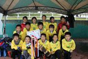 【2013年11月】第9回コスモスカップ(U-11) 優勝