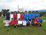 【2013年7月】第23回北電カップ(U-12トレセン) 3位