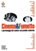 Cartolina Cinema e Fumetto a carpi