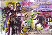"Cartolina ""Arte e profumi"" Gianfranco Pirrone"