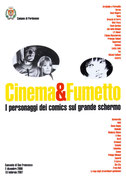 Cartolina Cinema e Fumetto a Pordenone
