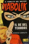 """Cartolina """"Fumetti in città"""" il re del terrore"""