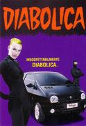 """Cartolina Renault 5 """"twingo Diabolica"""""""