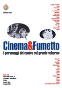 Cartolina Cinema e Fumetto a Vicenza