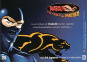 "Cartolina ""Diabolik - Track Of The Panther"""