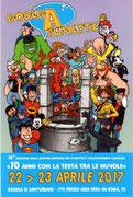Cartolina Godega a fumetti 2017