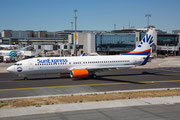 FRA 10.07.2015: D-ASXL; Boeing 737-8EH; SunExpress Germany (lsd. from GOL PR-GUC)