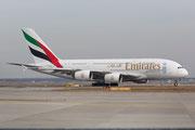 FRA 07.03.2015; A6-EEZ; A380-861 Emirates