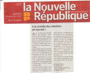 La Nouvelle République - 10.09.2011