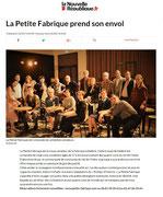 Petite Fabrique - La Nouvelle République  - novembre 2017
